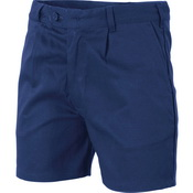 Cotton Drill Belt Loop Shorts