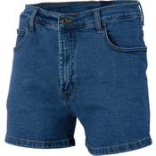 Demin Stretch Shorts