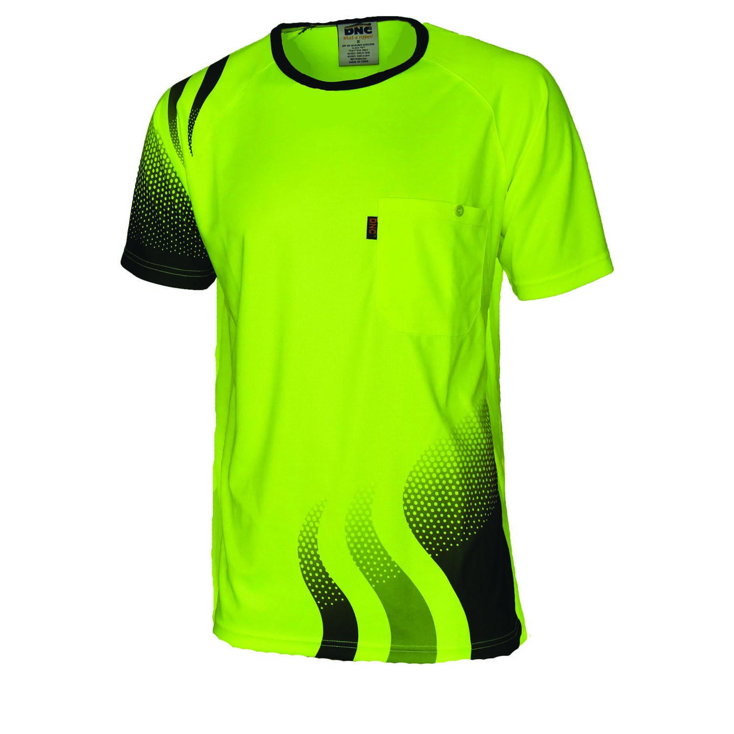 WAVE HIVIS SUBLIMATED TEE