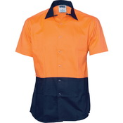HiVis Cool Breeze Food Industry Cotton Shirt - Short Sleeve
