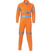 HiVis Cool-Breeze Orange L.Weight Cott on